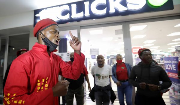 Clicks urged to upskill staff, 'wounded' by EFF tactics