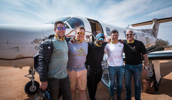 Rugby stars trek into the desert as Battle of the Sports kicks off